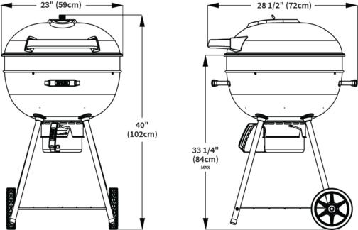 Барбекю На Въглища Napoleon PRO22K-LEG-2