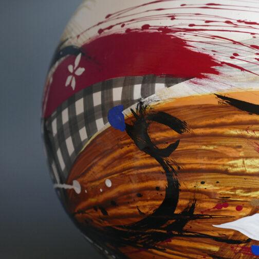 Луксозна ваза Ballpot