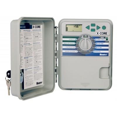 """XC601E Програматор външен монтаж """"X-CORE"""", 6 станции + трансф. 24-230V EU стандарт"""