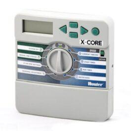 """XC601iE Програматор вътрешен монтаж """"X-CORE"""", 6 станции + трансф. 24-230V EU стандарт"""