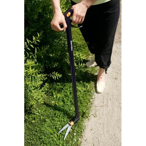 Дълга ножица за трева със серво лостов механизъм 2