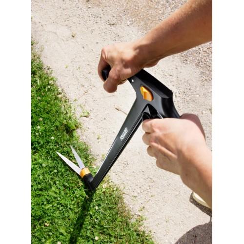 Дълга ножица за трева със серво лостов механизъм 3