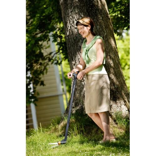 Дълга ножица за трева със серво-лостов механизъм
