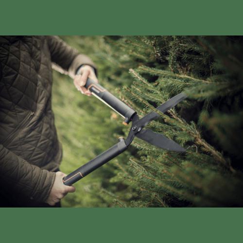Ножица за храсти SingleStep HS22 с вълнообразни остриета