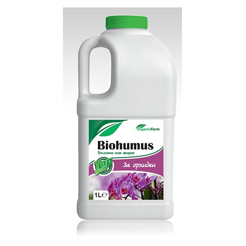 Биохумус Top gun за орхидеи